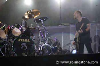 Flashback: Joey Jordison Subs on a Metallica Gig in 2004