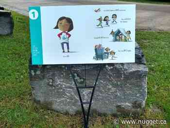 Story Walk Project comes to Sundridge-Strong library