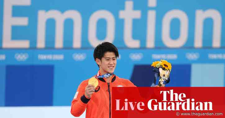 Tokyo 2020 Olympics: Japan top medal table, heat forces tennis change and more – live!