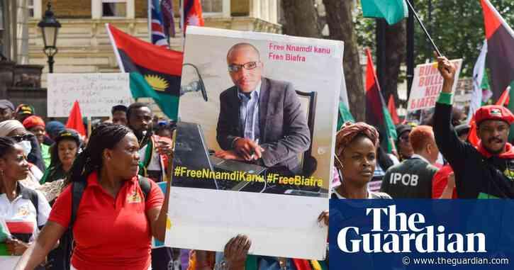 Arrested Biafra separatist's family accuse Raab of 'unlawful failure'