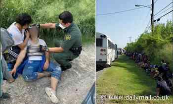 U.S. Border Patrol agents encounter 336 migrants crossing the border in Texas