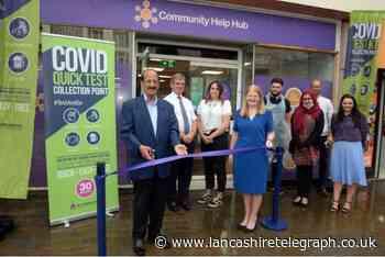 Blackburn town centre coronavirus testing and support hub opens