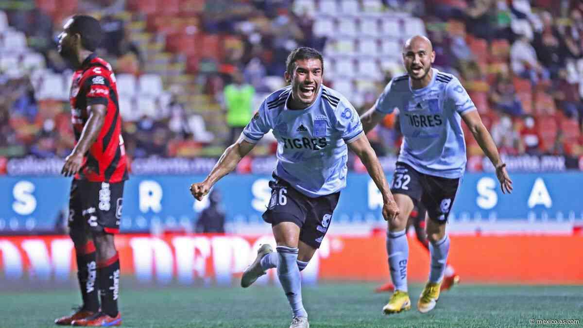 Tigres derrota a Xolos en la fecha 1 del Grita México A2021 - AS México