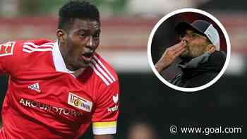 Union Berlin striker Awoniyi reveals Klopp's last message after Liverpool exit