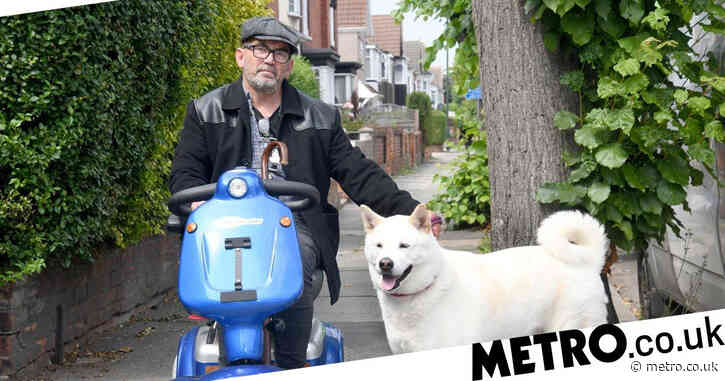 Smoker says he had a fit and can't leave home after being fined for dropping butt