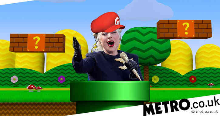 Lady Gaga was going to jump out of a warp pipe with a Super Mario hat on at the Olympics