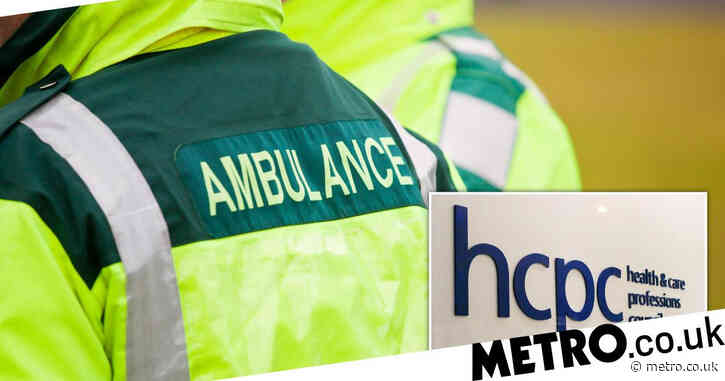 'Creepy' paramedic called colleague 'shaggable' and said he'd 'spank' her