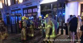 Emergency services attend 'electrical fire' at the County Hotel in Newcastle