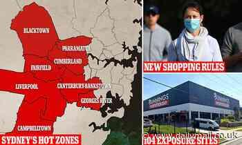 Covid-19 Australia: Millions in lockdown Sydney 'hot zones' will live under draconian restrictions
