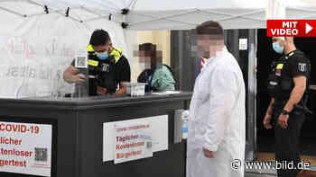 Polizei nimmt Coronatest-Clans hoch - BILD
