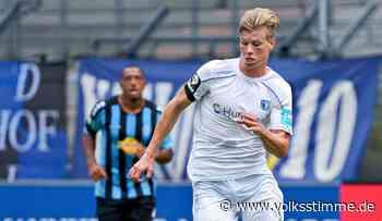 Luca Schuler startet beim 1. FC Magdeburg mit Vollgas durch - Volksstimme