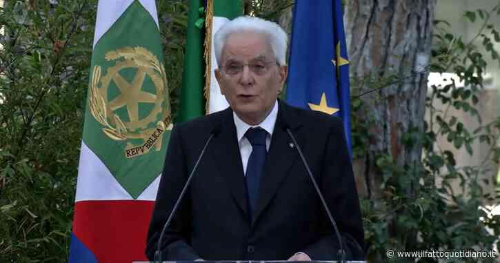 """Green pass, Mattarella: """"In ambienti comuni e condivisi le persone hanno diritto che nessuno porti pericolo di contagio"""""""
