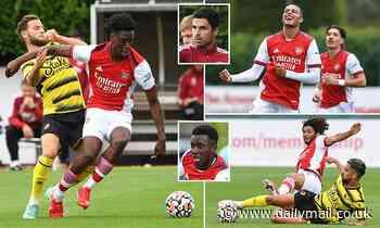Arsenal's Albert Sambi Lokonga produces commanding display: FIVE things we learned from Watford win