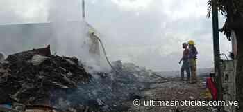 Apagaron incendio del vertedero improvisado en Cúa - Últimas Noticias