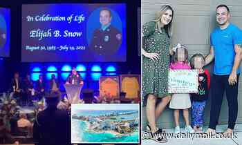 Texas firefighter who died of mechanical asphyxiation in Cancun resort is laid to rest