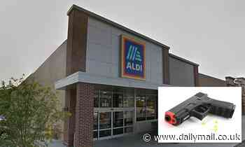 Man at Omaha Aldi store spits at mask-wearing man then SHOOTS him with BB gun