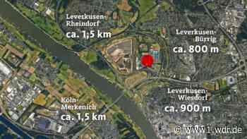 Leben nahe des Chemparks Leverkusen - warum gibt es keinen Sicherheitsabstand?