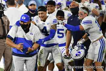 BYU Football: Cougars have better TV ratings than Big 12 - Lawless Republic