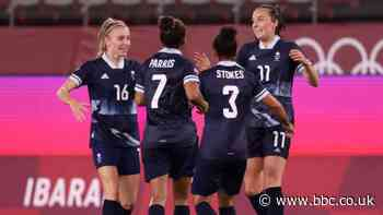 Women's Olympic football: Team GB top group after late draw with Canada - BBC Sport