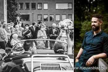 """Internationale jury bekroont foto van huwelijk in tijden van corona: """"Voortaan iedere dag streven naar een prijswinnend kiekje"""" - Het Nieuwsblad"""