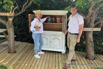 Huis van de Tomaat zorgt voor boekenruilkast (Duffel) - Het Nieuwsblad