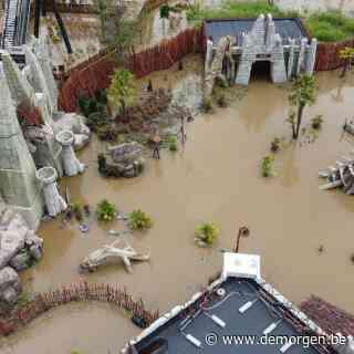 Walibi meet schade op na overstromingen: 'Ten vroegste heropenen in oktober'