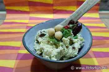 Orientalisches Hummus mit Datteln - Rezepte - FIT FOR FUN