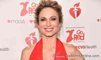 GMA's Amy Robach wows in a figure-flattering dress we want in our closets too