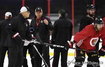 Ottawa Senators give head coach D.J. Smith two-year extension - BayToday