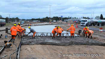 Buenos Aires: trabajos en la rotonda de las RN33 y RP67 - Argentina.gob.ar Presidencia de la Nación
