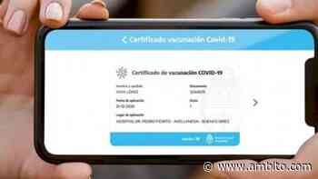 La Provincia de Buenos Aires incorporó el pasaporte sanitario - ámbito.com
