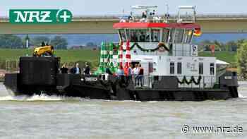 Das Schiff Emmerich sorgt für Sicherheit auf dem Rhein - NRZ
