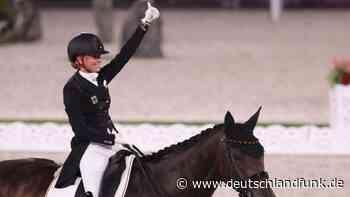 Olympische Spiele - Jessica von Bredow-Werndl gewinnt Gold im Dressur-Einzel - Deutschlandfunk