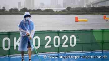 Wie ein Taifun die Olympischen Spiele in Tokio durcheinanderbringt - Augsburger Allgemeine