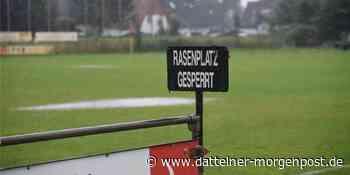 Unwetter: Spiele der Stadtmeisterschaft in Datteln fallen ins Wasser - Dattelner Morgenpost