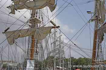 La Rochelle : trois trois-mâts dans le bassin des Chalutiers - Sud Ouest