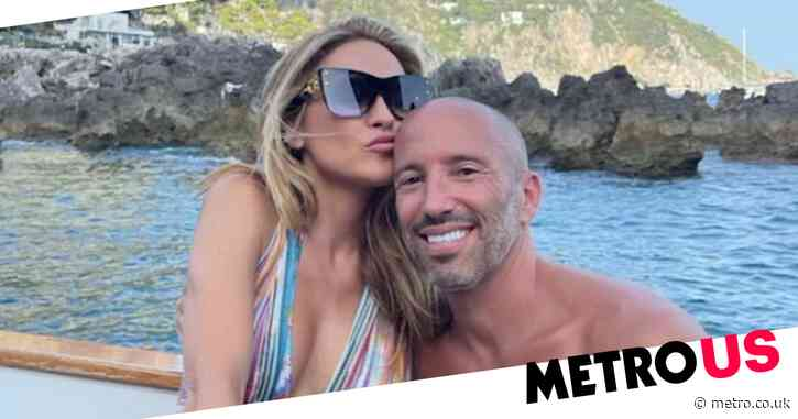 Selling Sunset stars Chrishell Stause and Jason Oppenheim confirm secret romance with cosy holiday snaps