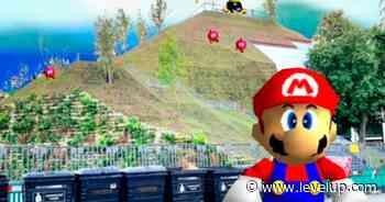 Comparan nueva colina en Londres con el primer nivel de Super Mario 64 - LEVELUP
