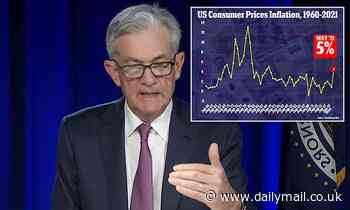 Fed votes unanimously to keep ultra-low interest rates and STILL insists inflation is transitory