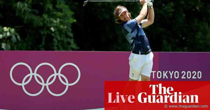 Tokyo 2020 Olympics: men's golf begins, heat forces tennis change – live!
