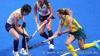 Hockeyroos hold on for third straight win - Armidale Express