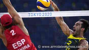 Australian men bow out on sand at Tokyo - Armidale Express