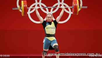 Aussie weightlifter Wakeling finishes 13th - Armidale Express