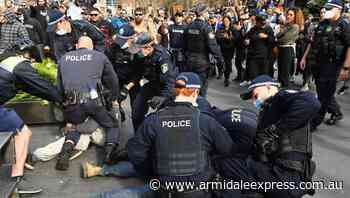 NSW police get 15000 tips over protest - Armidale Express