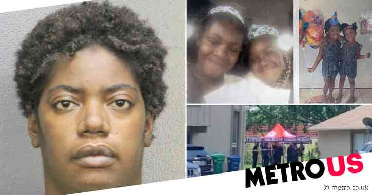 Mother charged after two girls found dead in canal identified as sisters, aged 7 and 9