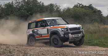 Bowler launches Land Rover Defender rally car for new Challenge race series     - Roadshow