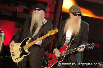 Flashback: ZZ Top Find Some 'Tush' at 2004 Rock Hall Induction Ceremony