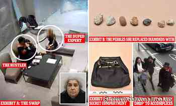 Con woman who swapped £4.2m of diamonds with pebbles in Boodles is found guilty