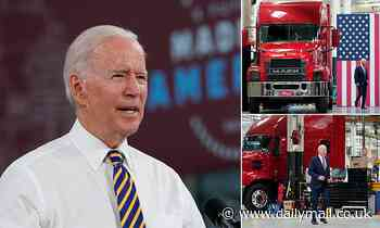 'There's a new sheriff in town': Biden says government has ignored US-made products for too long