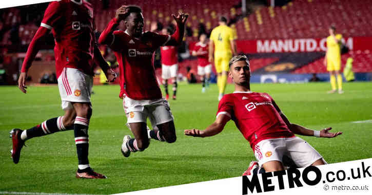 Andreas Pereira scores extraordinary goal in Manchester United friendly draw with Brentford